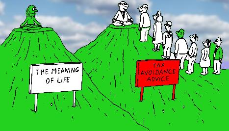 tax avoidance image