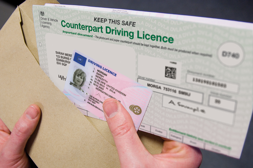 renew driving licence